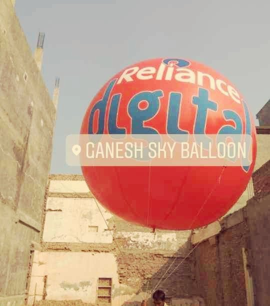Reliance Digital Sky Balloons